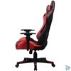 Kép 2/2 - Gamer szék, fekete/piros, max. 120 kg (GCH201BR)