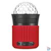 Kép 2/3 - Urban Dixxo Go vezeték nélküli Bluetooth piros hangszóró