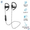 Kép 1/2 - Usan (23345) Fülhallgató, Bluetooth,  headset