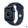 Kép 1/4 - Apple Watch Series 6 GPS-es 40mm kék alumíniumtok tengerészkék sportszíjas okosóra