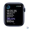 Kép 3/4 - Apple Watch Series 6 GPS-es 40mm kék alumíniumtok tengerészkék sportszíjas okosóra