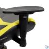 Kép 4/5 - Iris GCH203BC fekete / citromsárga gamer szék