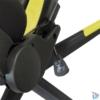 Kép 5/5 - Iris GCH203BC fekete / citromsárga gamer szék