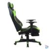 Kép 5/5 - Iris GCH204BE_FT fekete / zöld gamer szék