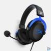 Kép 2/3 - Kingston HyperX Cloud 3,5 Jack PS4 gamer headset