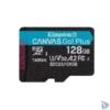 Kép 1/3 - Kingston 128GB SD micro Canvas Go! Plus (SDXC Class 10 UHS-I U3) (SDCG3/128GBSP) memória kártya