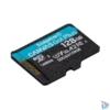 Kép 2/3 - Kingston 128GB SD micro Canvas Go! Plus (SDXC Class 10 UHS-I U3) (SDCG3/128GBSP) memória kártya