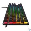 Kép 4/6 - Kingston HyperX Alloy Origins Core (AQUA switch) Tenkeyless US világító mechanikus gamer billentyűzet