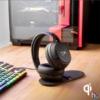 Kép 8/8 - Kingston HyperX Cloud Flight S Qi töltős vezeték nélküli fekete gamer headset