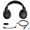 Kép 5/6 - Kingston HyperX CloudX Flight vezeték nélküli fekete gamer headset