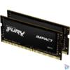 Kép 1/2 - Kingston 32GB/2666MHz DDR-4 (Kit of 2) 1Gx8 FURY Impact (KF426S15IB1K2/32) notebook memória