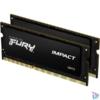 Kép 1/2 - Kingston 8GB/1600MHz DDR-3L (Kit of 2) 1.35V FURY Impact (KF316LS9IBK2/8) notebook memória