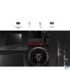 """Kép 8/11 - LG 27"""" 27GN750-B 240Hz HDMI Display LED gamer monitor"""