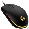 Kép 4/5 - Logitech G203 Lightsync fekete gamer egér