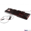 Kép 3/5 - MSI Vigor GK60 HUN USB fekete gamer billentyűzet
