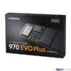 Kép 1/4 - Samsung 500GB NVMe 1.3 M.2 2280 970 EVO Plus (MZ-V7S500BW) SSD