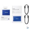 Kép 6/6 - Samsung 2000GB USB 3.2 (MU-PC2T0H/WW) kék T7 külső SSD