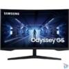 """Kép 1/7 - Samsung 32"""" C32G55TQWU LED WQHD HDMI Display port 144Hz ívelt kijelzős monitor"""