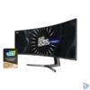 """Kép 2/9 - Samsung 49"""" C49RG90SSR QLED Dual QHD HDMI 2Display port 120Hz ívelt kijelzős kékes sötétszürke gamer monitor"""