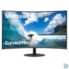 """Kép 1/7 - Samsung 27"""" C27T550FDR LED HDMI Display port ívelt kijelzős kékes sötétszürke monitor"""