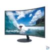 """Kép 5/7 - Samsung 27"""" C27T550FDR LED HDMI Display port ívelt kijelzős kékes sötétszürke monitor"""