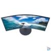 """Kép 6/7 - Samsung 27"""" C27T550FDR LED HDMI Display port ívelt kijelzős kékes sötétszürke monitor"""