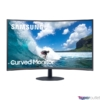 """Kép 1/8 - Samsung 31,5"""" C32T550FDR LED HDMI Display port ívelt kijelzős kékes sötétszürke monitor"""