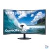 """Kép 1/8 - Samsung 23,6"""" C24T550FDR LED HDMI Display port ívelt kijelzős kékes sötétszürke monitor"""