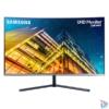 """Kép 1/9 - Samsung 31,5"""" U32R590CWR LED 4K HDMI Display port ívelt kijelzős kékes sötétszürke monitor"""