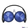 Kép 3/3 - Sony MDRZX310APL.CE7 kék mikrofonos fejhallgató