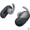 Kép 2/6 - Sony WF-SP700N True Wireless Bluetooth zajszűrős fekete sport fülhallgató