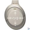 Kép 6/6 - Sony WH1000X M3 Hi-Res Bluetooth/aptX ezüst mikrofonos fejhallgató
