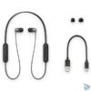 Kép 7/7 - Sony WIC310B Bluetooth fekete fülhallgató headset