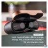 Kép 4/8 - Sony WF1000XM3S True Wireless Bluetooth zajcsökkentős ezüst fülhallgató