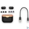 Kép 8/8 - Sony WF1000XM3S True Wireless Bluetooth zajcsökkentős ezüst fülhallgató