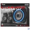 Kép 4/4 - Trust GXT 628 Tytan 2.1 Illuminated Speaker Set Limited Edition jack 60W fa gamer hangszóró