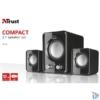 Kép 3/3 - Trust Ziva Compact 2.1 hangszóró
