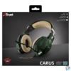 Kép 4/4 - Trust GXT 322C Carus dzsungel álcafestéses gamer fejhallgató headset
