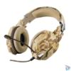 Kép 1/4 - Trust GXT 322D Carus sivatag álcafestéses gamer fejhallgató headset