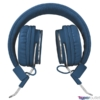 Kép 2/5 - Trust Ziva összehajtható kék fejhallgató headset