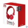 Kép 4/4 - Trust Ziva összehajtható piros fejhallgató headset