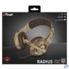 Kép 5/5 - Trust GXT 310D Radius desert camo gamer fejhallgató headset