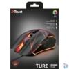 Kép 6/6 - Trust GXT 160 Ture Illuminated fekete gamer egér