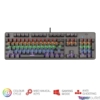 Kép 2/5 - Trust GXT 865 Asta HUN USB fekete mechanikus gamer billentyűzet