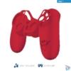 Kép 1/4 - Trust GXT744R Rubber Skin piros PS4 controllerhez
