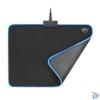 Kép 2/5 - Trust GXT 762 Glide-Flex Illuminated flexible világító fekete gamer egérpad