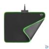 Kép 3/5 - Trust GXT 762 Glide-Flex Illuminated flexible világító fekete gamer egérpad