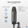 Kép 3/9 - Trust GXT 252+ Emita Plus Streaming USB gamer mikrofon