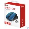 Kép 5/5 - Trust Mydo Silent Click vezeték nélküli kék egér