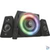 Kép 1/3 - Trust GXT 629 Tytan 2.1 Speaker RGB jack 120W fa gamer hangszóró